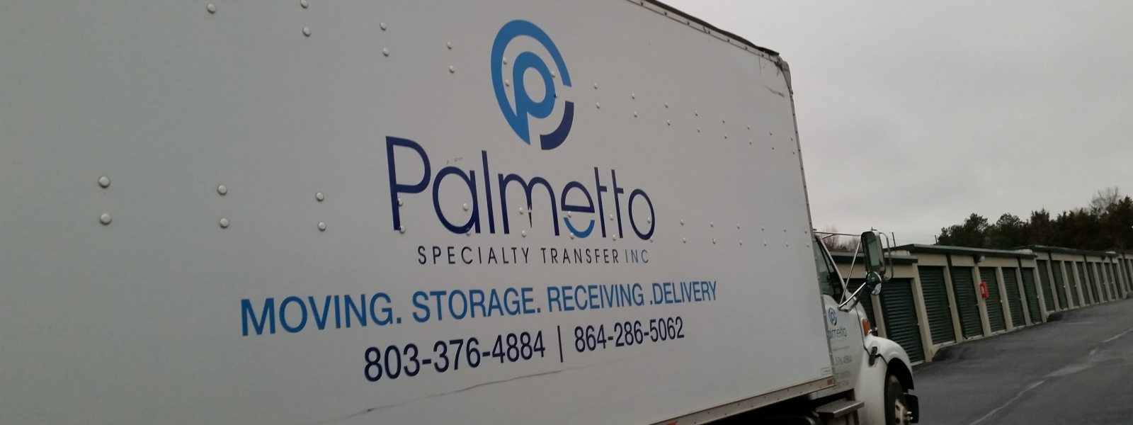Palmetto Specialty Transfer Moving Truck